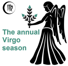 The annual Virgo season